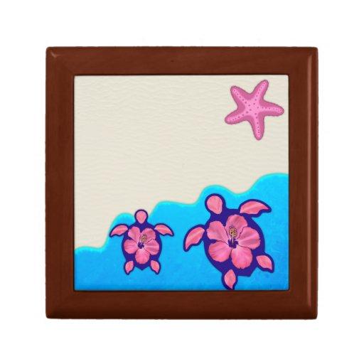Pink Honu Turtles Gift Box