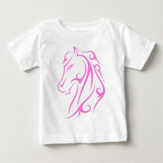 Pink horse baby T-Shirt