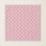 "Pink Horse Bit Scarf<br><div class=""desc"">Horse bit pattern on pink background</div>"