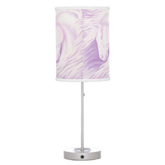 Pink Horse Collection Table Lamps