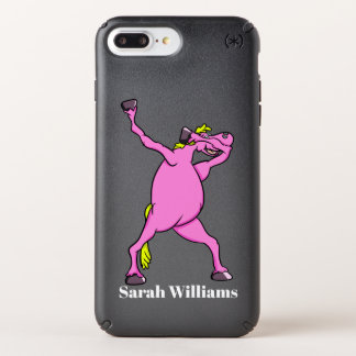Pink Horse Dabbing Speck iPhone Case