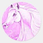 Pink Horse  Sticker