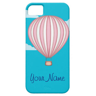 Pink Hot Air Baloon iPhone SE/5/5s Case