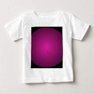 Pink Hot Pink and Black Plainly 3D Customizable Baby T-Shirt