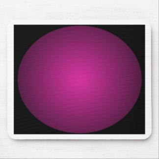 Pink Hot Pink and Black Plainly 3D Customizable Mousepads