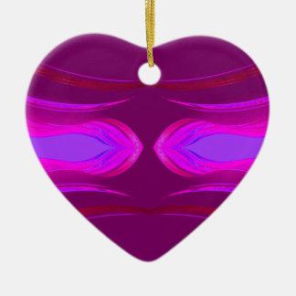 Pink Hot Pink Purple Dreams CricketDiane Ceramic Ornament