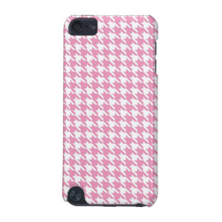 Pink Hounds Tooth Case for Ipod iPod Touch (5th Generation) Cases