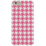 Pink Houndstooth iPhone 6 Plus Case
