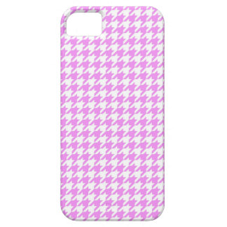 Pink Houndstooth iPhone SE/5/5s Case