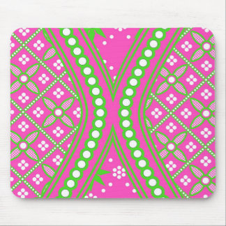 Pink Hourglass Design Multi products selected Mouse Pad