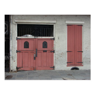Pink House in New Orleans Postcards