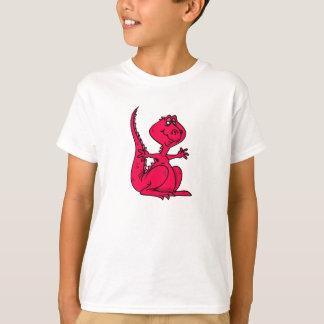 Pink Huggy Dinosaur T-Shirt