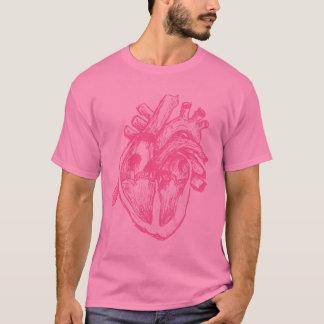 Pink Human Heart T-Shirt
