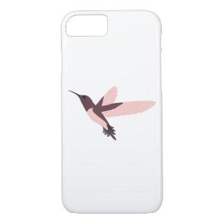 Pink Hummingbird iPhone 7 Case