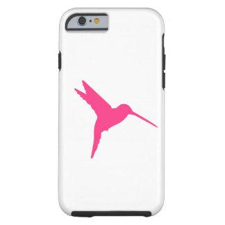 Pink Hummingbird Tough iPhone 6 Case