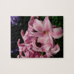 Pink Hyacinth Beautiful Spring Flower Jigsaw Puzzle