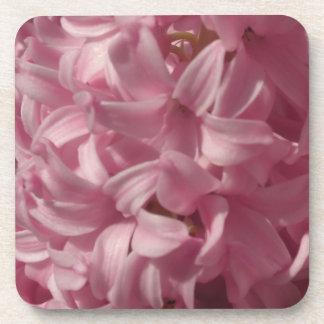Pink Hyacinths Cork Coasters
