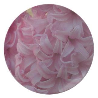 Pink Hyacinths Plate
