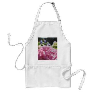 Pink Hydrangea Apron