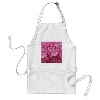 Pink Hydrangea Adult Apron
