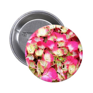 Pink Hydrangea Bouquet Button