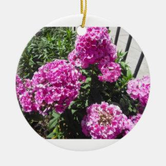 Pink Hydrangea Buddha Quote Ornament