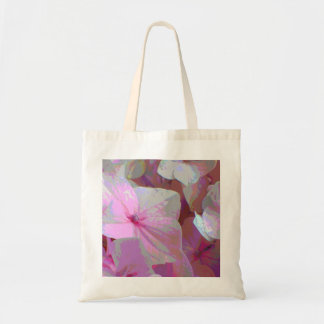 Pink Hydrangea Canvas Bags