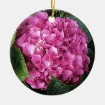 Pink Hydrangea Christmas Tree Ornament
