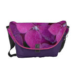 Pink Hydrangea Flowers Courier Bags
