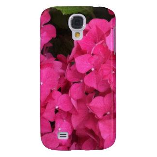 Pink Hydrangea Flowers Galaxy S4 Case