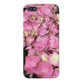 Pink Hydrangea Flowers iPhone SE/5/5s Case