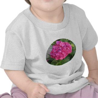 Pink Hydrangea from Mission Garden T-shirts