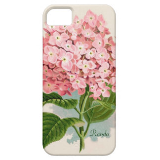 Pink Hydrangea iPhone 5 Touch Case iPhone 5 Cover