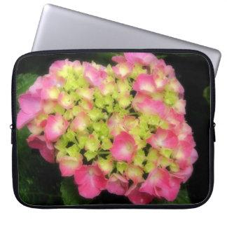 Pink Hydrangea Laptop Sleeve