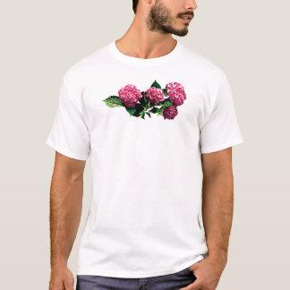 Pink Hydrangea Mens T-Shirt