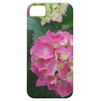 pink hydrangea smart phone case
