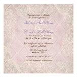 Pink Hydrangea Swirl - Floral Bridal Shower Invite