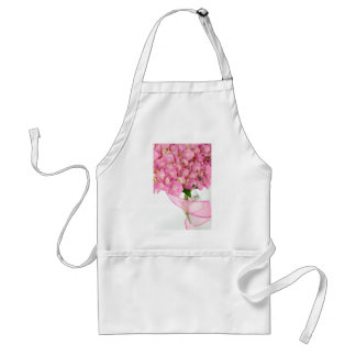 Pink Hydrangeas Adult Apron