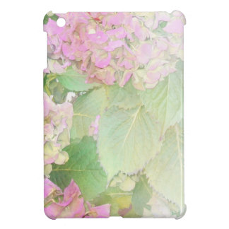Pink Hydrangeas Cover For The iPad Mini