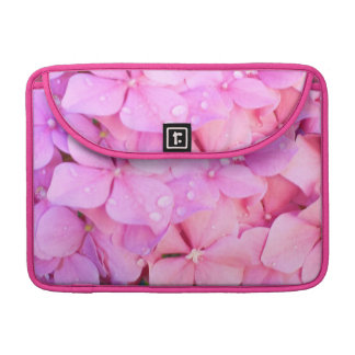 Pink Hydrangeas MacBook Pro Sleeve