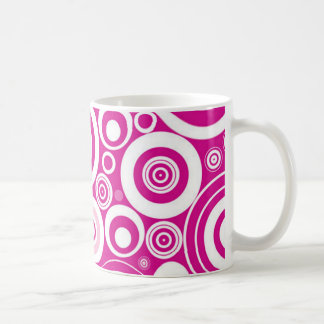 Pink Hypnosis Coffee Cup Mugs