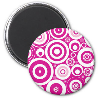 Pink Hypnosis Magnet