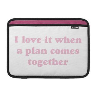 Pink I Love It MacBook Air Sleeves