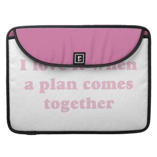 Pink I Love It MacBook Pro Sleeves