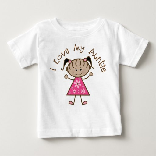 Pink I Love My Aunt Gift T-shirts