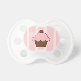 Pink Ice Cream Cone Pacifier