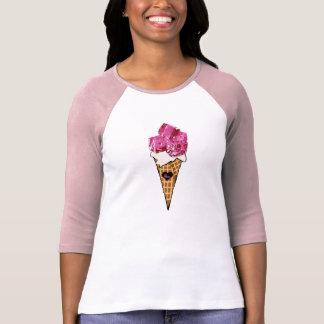 Pink Ice Cream Cone Shirt