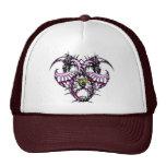 Pink Ice Dragonheart Hats