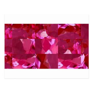 Pink Ice jeweled Valentines Day Gifts by Sharles Postcard