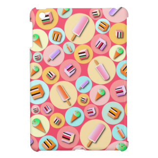 Pink Icecream Candy iPad Mini Case
